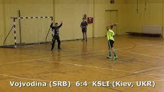 Handball. Vojvodina (SRB) - KSLI (Kiev, UKR). U16 boys. TROPHY-2018. Smederevo.