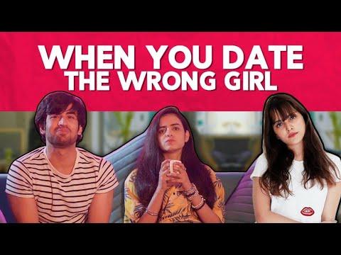 When You Date The Wrong Girl Ft. Rashmeet Kaur, Abhishek & Srishti | Hasley India