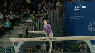 Cătălina Ponor s-a calificat în finala la bârnă a Campionatelor Europene de gimnastică 2017