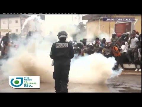 STV - THE 08:00 PM BILINGUAL NEWS - (MANIFESTATIONS du MRC à YAOUNDÉ et DOUALA) - 26th January 2019