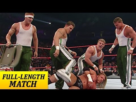 Mr. McMahon forces Triple H to run the Gauntlet against The Spirit Squad poster