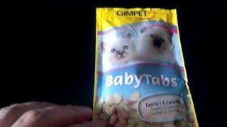 Витамины Gimpet Baby-Tabs для укрепления иммунитета и здорового развития котят 50 таблеток