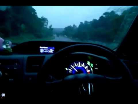 HONDA FB New Civic 2012 ทดสอบ ไม่ใช้มือขับรถ