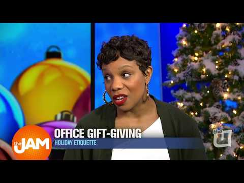 Holiday Etiquette - Office Gift-Giving Advice from Akilah Easter