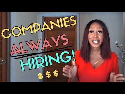 Companies ALWAYS Hiring  | Work From HOME  2019
