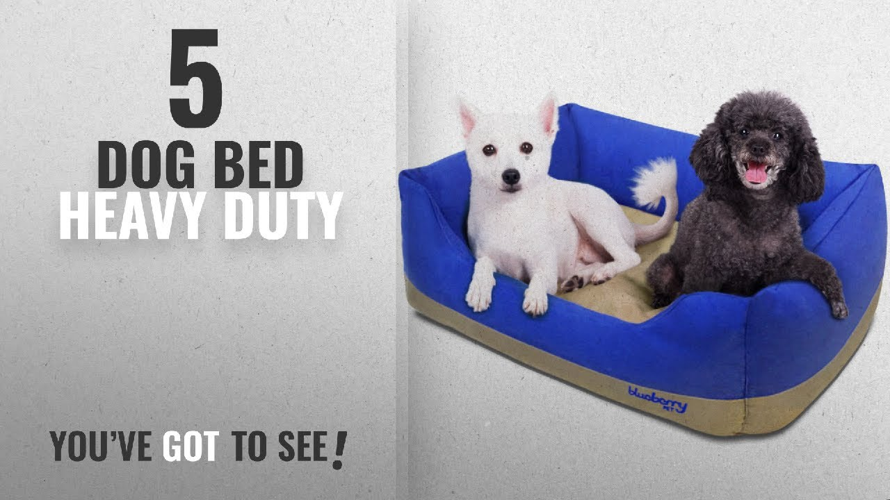 Top 5 Dog Bed Heavy Duty 2018 Best Sellers Blueberry Pet Heavy