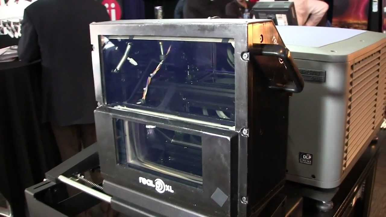 Reald Xl 3d Cinema System A Second Look Up Close Youtube