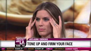 Dr Zein Obagi Exercises for the Face Good Day LA KTTV FOX Los Angeles 07 21 14 9 10 AM 05 15