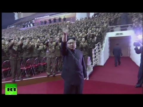 'Make others envy us': Kim Jong-Un celebrates 'ICBM' launch at concert