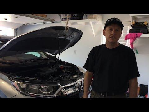 2017 Honda Cr V 1 5l Turbo Oil Change And Fumoto Valve Install