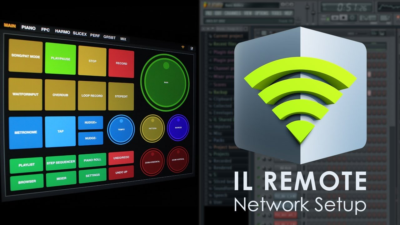 Image-Line Remote | FL Studio Wi-Fi Network Setup - YouTube