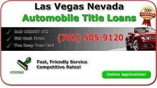 Car Title Loans Henderson Nevada