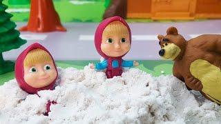 Мультики - Маша и Медведь все серии подряд без остановки! Для детей мультфильмы! Сборник видео 2017