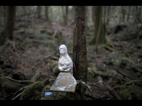 Suicide Forest Aokigahara JAPAN HAUNTED Ghost Caught on Tape