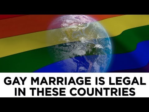 Gay marriage is legal in these countries
