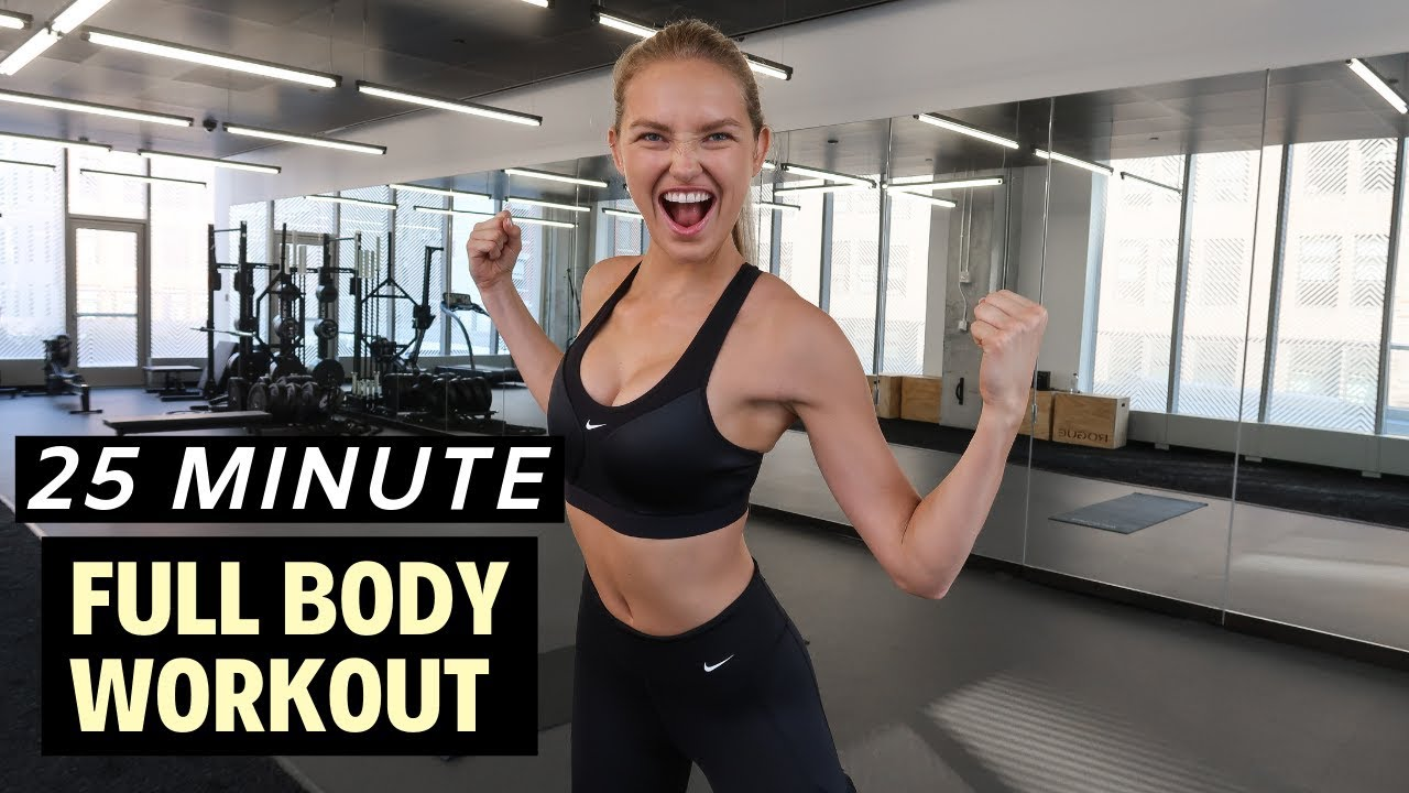 Download 25 Minute FULL BODY Workout - Fitness Series With Romee Strijd
