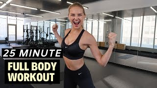25 Minute FULL BODY Workout - Fitness Series With Romee Strijd