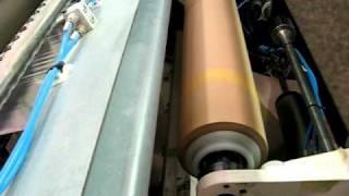 cf3 automatic center folding machine for pof shrink film