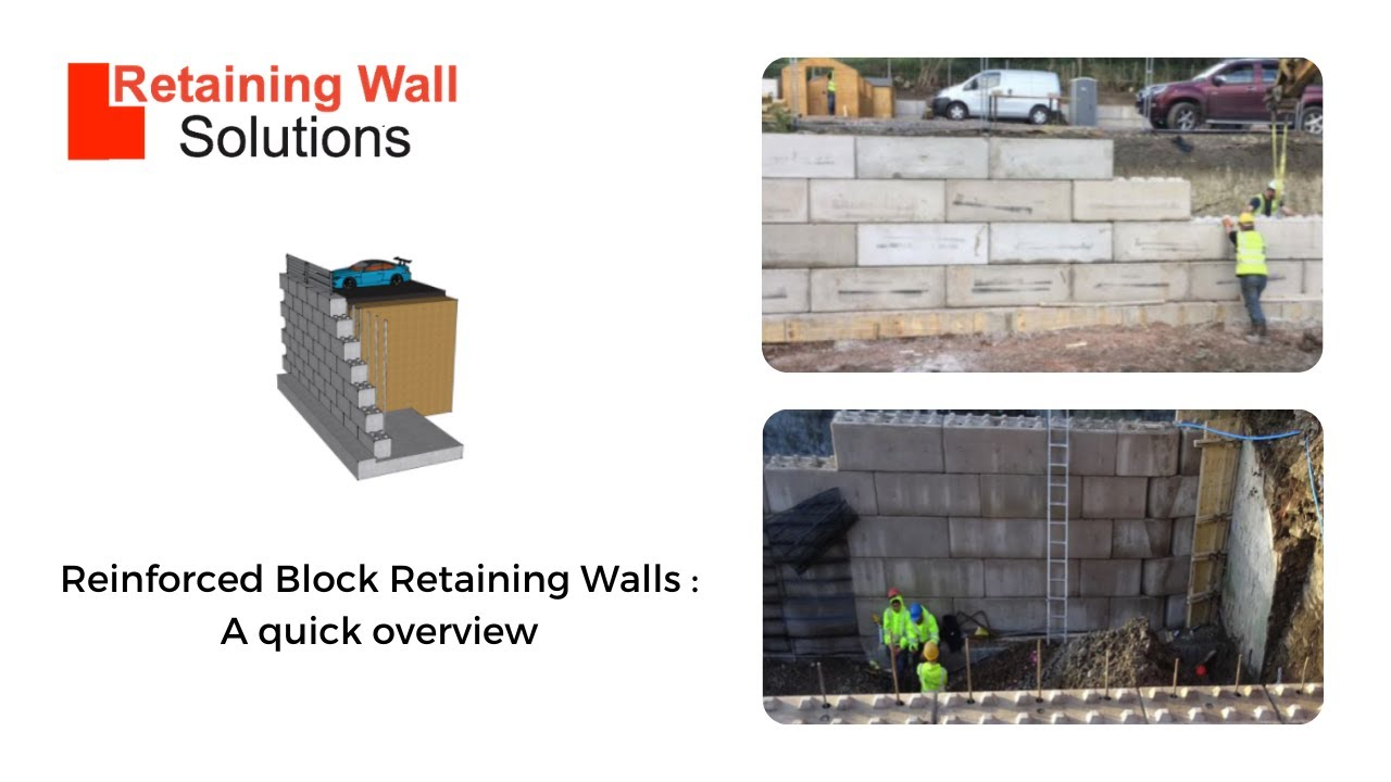 Reinforced Block Retaining Walls : A quick overview