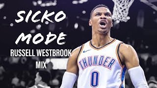 Russell Westbrook Houston Hype 'Sicko Mode'