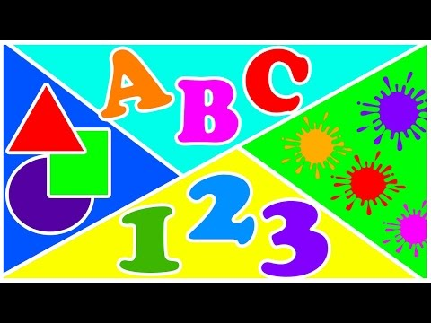 Colors 1 2 3 4 5 6 7 8 9 10 11 12 13 14 15 16 17 18 19 20 & ABC - Cartoon HD # 19 ✔