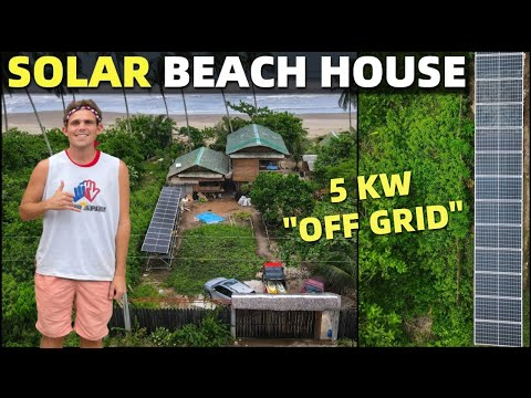 SOLAR ENERGY BEACH HOUSE - No More Electric Bills In The Phi