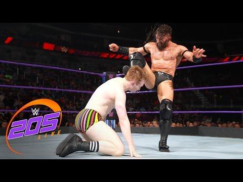 Gentleman Jack Gallagher vs. Neville: WWE 205 Live, April 25, 2017