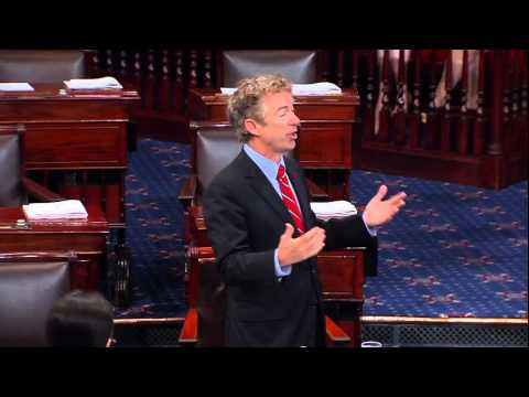 Sen. Rand Paul Argues Against U.S. Arming Syrian Rebels on Senate Floor - September 18, 2014