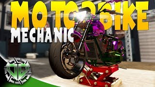 Repairing and Rebuilding Motorcycles : MOTORBIKE GARAGE MECHANIC SIMULATOR Gameplay