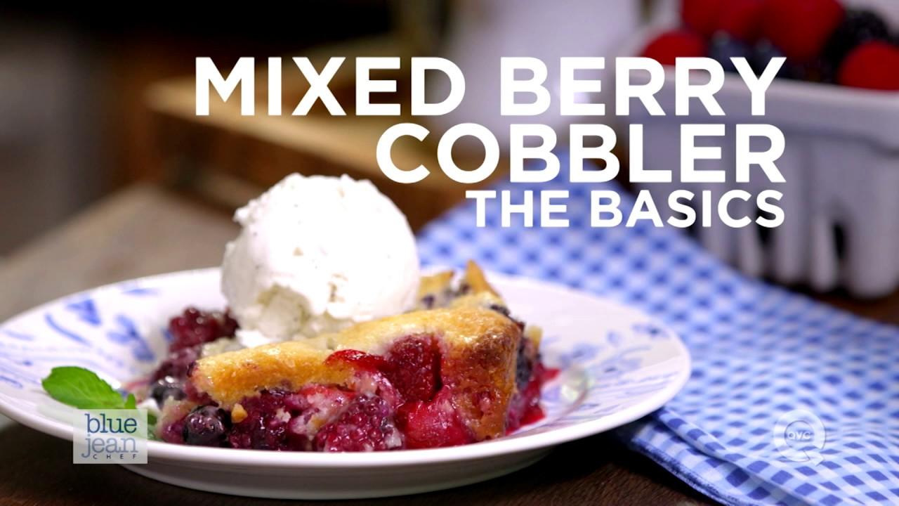 Download Mixed Berry Cobbler Recipe | The Basics | QVC