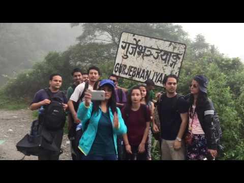 Gurjebhanjyang Hiking, Nepal Law Campus - 2016, Watermark tours