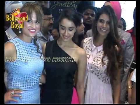 Shraddha Kapoor at Unveiling of 'India's Largest Jewelery Expo 'Glamour 2015' Part  1