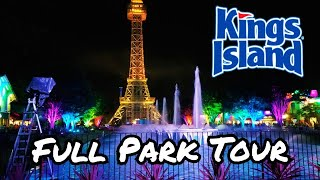 Kings Island- (Full Park Tour) HD, 60fps