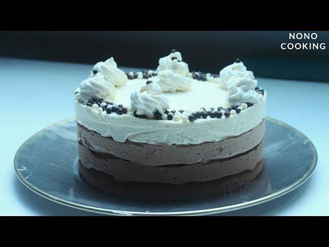 entremet-3-chocolats triple-chocolate-mousse-cake