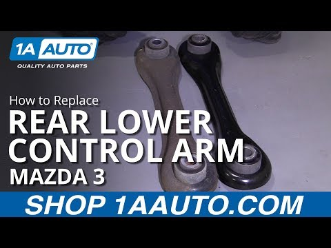 How to Replace Rear Lower Control Arm 04-13 Mazda 3