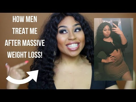 HOW MEN TREAT ME AFTER MASSIVE WEIGHT LOSS!| YANIE REDD