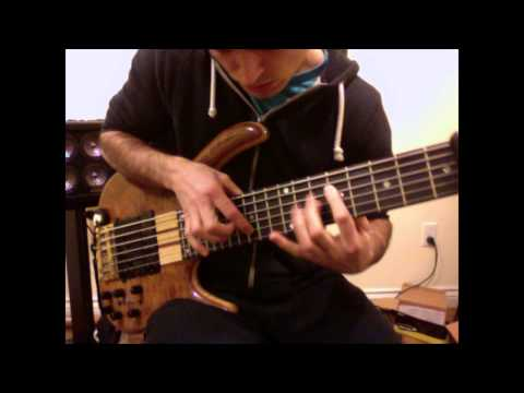 Bach Two-Part Invention No.4 - Arranged For Solo Bass