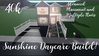 Sunshine Daycare   40k   Bloxburg   xamaraplays