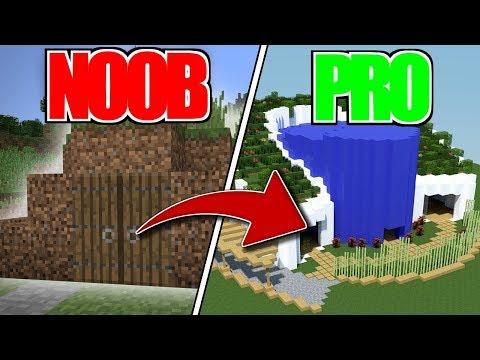 Maison De Noob Vs Maison De Pro Dans Minecraft Awariz