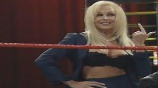 Debra distracts The Big Bossman 03/01/1999 HEAT