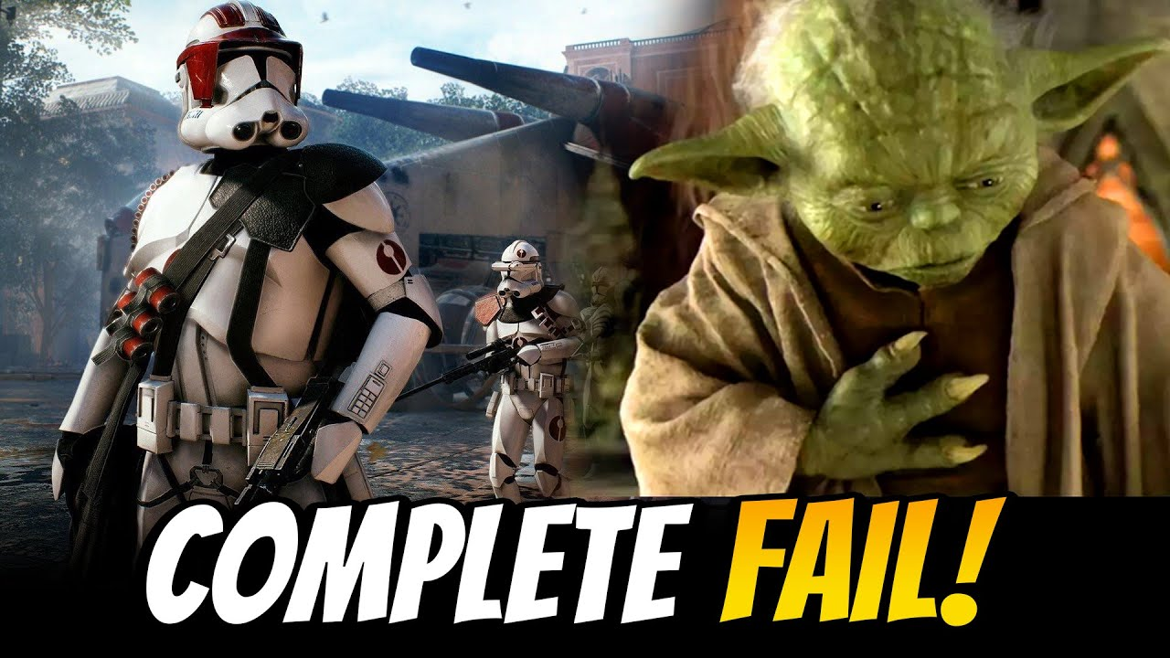 EA Completely Fails Star Wars Fans This Year! This Could Have Been Avoided!