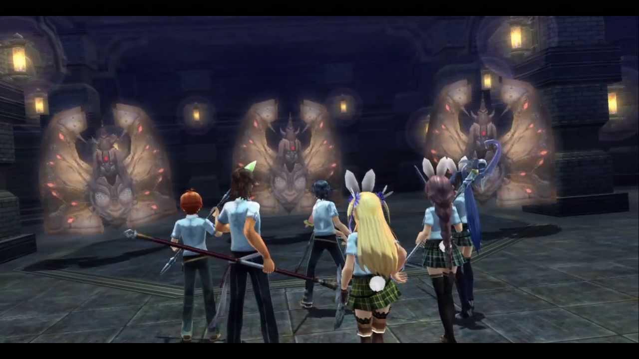 PS3 英雄傳說:閃之軌跡 第4章「 緋の帝都 ~夏至祭~」Part 3 - YouTube