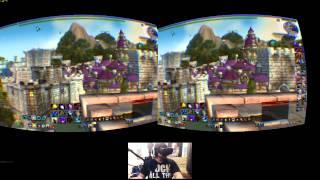 oculus rift dk2 world of warcraft wod exploring stormwind