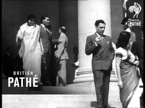 Mountbatten Sworn In As Viceroy Of India (1947)