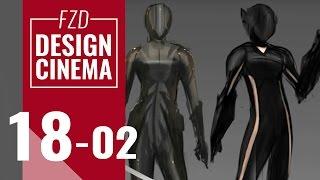 Design Cinema – EP 18 - Character Sketching Part 02