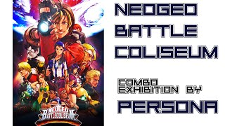 Neo Geo Battle Coliseum (All Character Combo Exhibition by Persona)