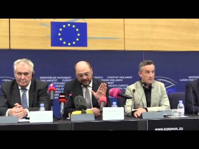 Скандал: Витренко послала президента Европарламента в нокдаун