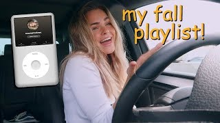 fall playlist 2019  drive with me to LA