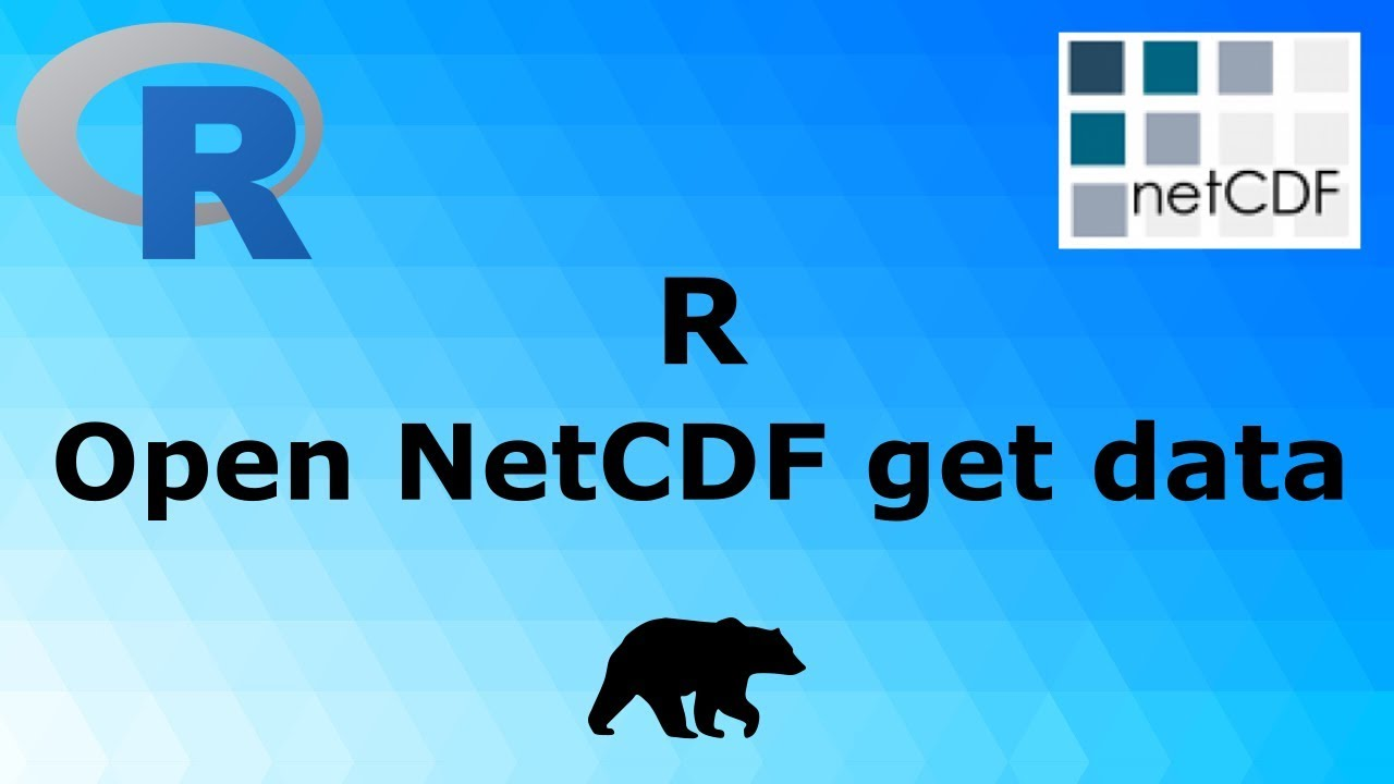 R - Open NetCDF file and get data