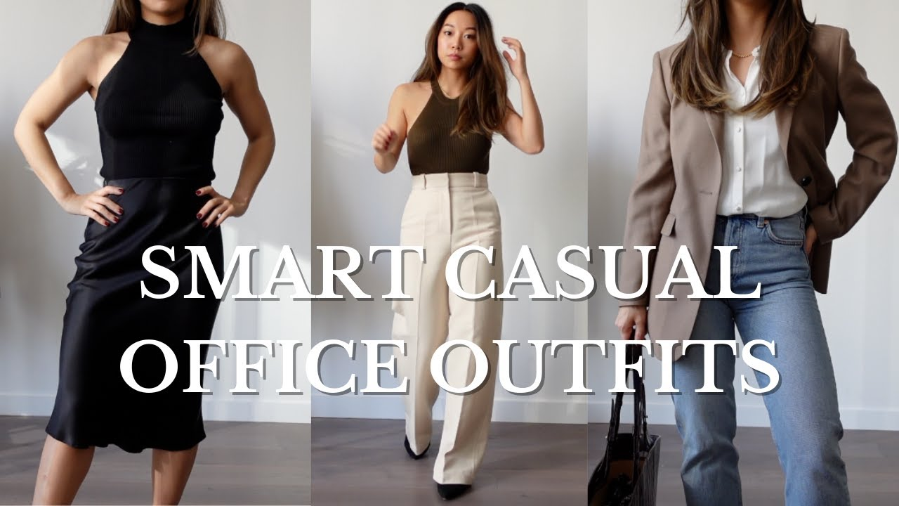 Smart Casual Office Outfits | Workwear Essentials